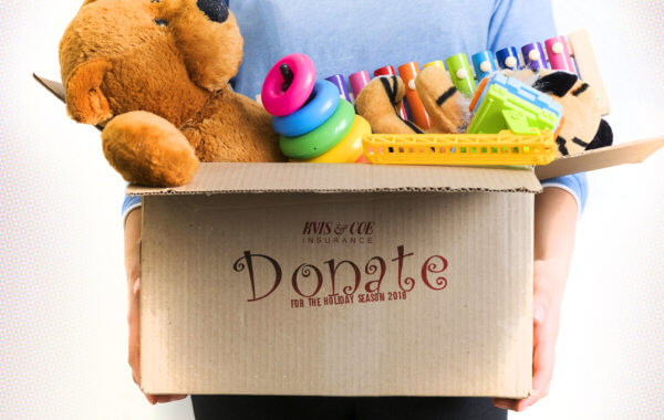 Toy & Clothing Christmas Donation Drive | Oxford PA | Coe Insurance Services