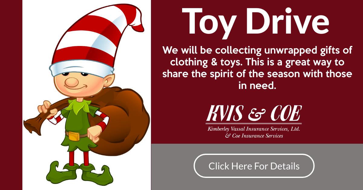 Kvis & Coe Toy Drive